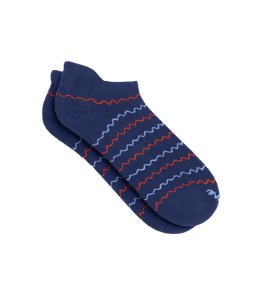 Ankle Sock in Squiggle