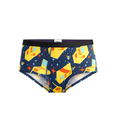 Women's Cheeky Brief in Packin' Quarters