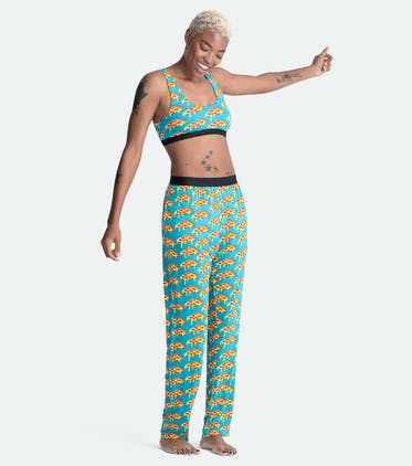 Women's Lounge Pant in Slice Slice Baby