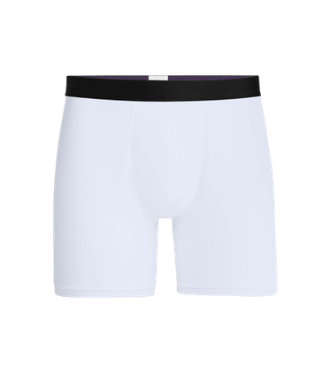 Men's Boxer Brief in White