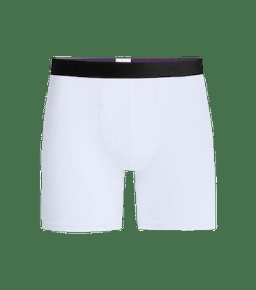 Men's Boxer Brief w/ Fly in White