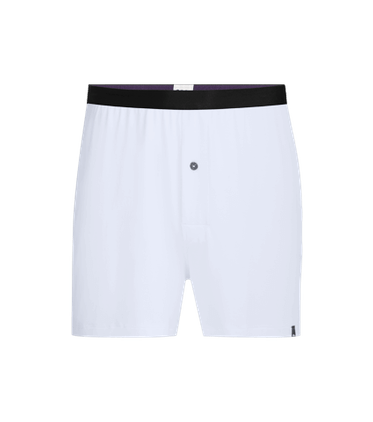 Men's Boxer in White