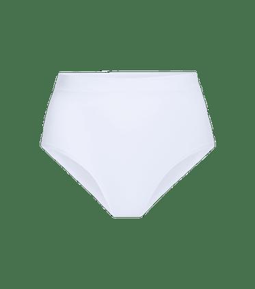 FeelFree High-Waisted Cheeky in White