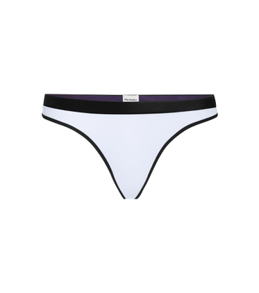 Women's Thong in White