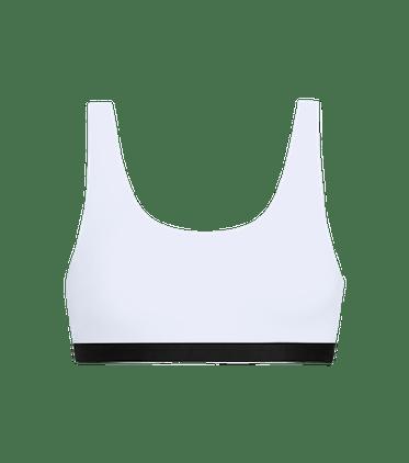 U-Back Bralette in White