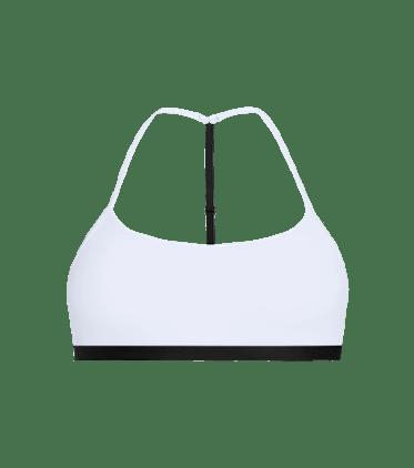 T-Back Bralette in White