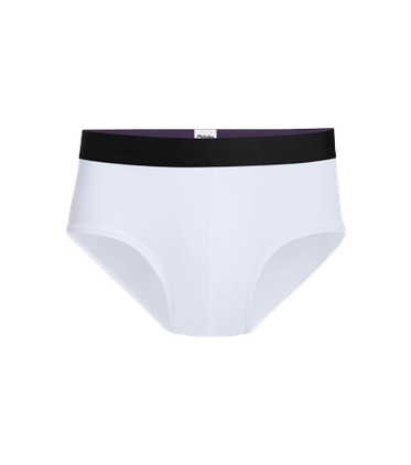Men's Brief in White