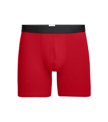 Men's Boxer Brief in Goji Berry
