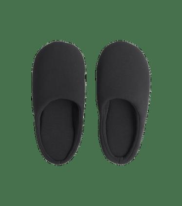Modal Slippers in Black