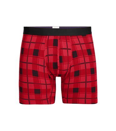 Men's Boxer Brief in Off Kilt